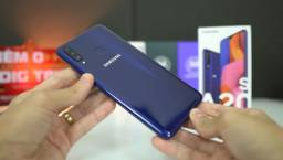 Troco Samsung A20s azul super novo em Redmi note 8