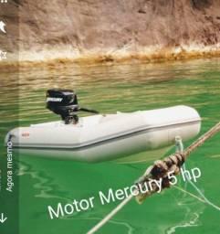 Motor de popa Mercury 5HP
