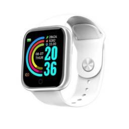 Relógio Y68 Smart Watch à Prova D?água USB Esportivo com Monitor