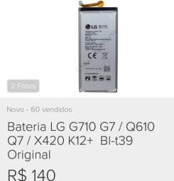 Bateria lg k12 plus e outros aparelhos