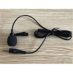 Microfone de Lapela Profissional para Celular P3