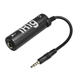 Placa de audio, interface para celular Irig Iphone, Android