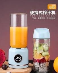 Liquidificador Portátil (vira shake) de vidro com timer