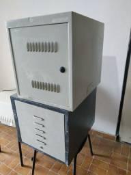 Rack padrão de servidor