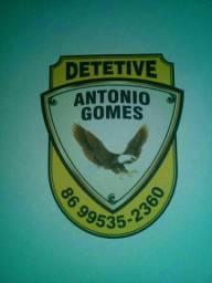 Detetive  particular  Antonio Gomes