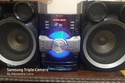 Panasonic SA-AKX56 - 9100W - Bluetooth - USB (pendrive) - CD player - Rádio AM/FM - 2GB