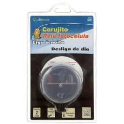 Relé Fotocélula Corujito Bivolt QR51 liga a luz ao anoitecer e desliga ao amanhecer