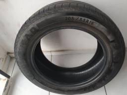 Vendo pneu para aro 16 estava usando em Honda Civic