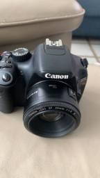 Canon T2i EOS Rebel seminova.<br>