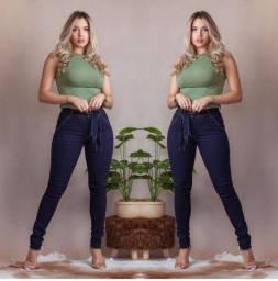 Calça jeans skinny tamanho 40