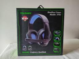 Fone Headset Gamer Tecdrive PX1 - Novo