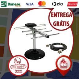 Antena Digital Externa com Cabo 5M