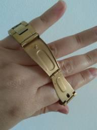 Aceito R$350 nele Technos feminino dourado