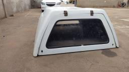 Capota de fibra para S10 cabine simples
