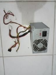 Fonte Atx 20p para PC 250w real, fonte real da hipro lenovo
