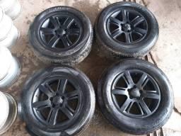 Rodas Da Amarok aro 17 com pneus