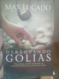 Livro Max Lucado Derrubando Golias