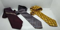Título do anúncio: lote de três lindas gravatas - n1006