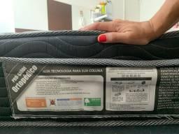 Colchão Ortopédico Ortobom Queen +  Cama Baú SEMI NOVOS