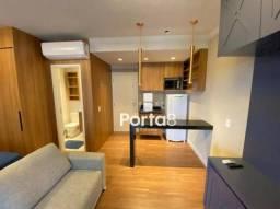 Apartamento com 1 dormitório para alugar, 34 m² por R$ 1.600,00/mês - Jardim Tarraf II - S