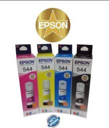 Tinta epson l3150 e l3110 original. kit com 4 cores.