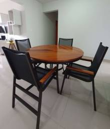 Conjunto de mesa (ideal para área externa)