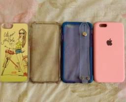 Vendo 04 capas Iphone 6