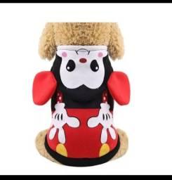 Agasalho Pet Cachorro Femea Minnie Mouse