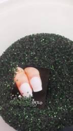 Pedrarias para joia de unhas