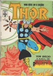 Quadrinhos - Thor - Ed. 01 - 36pg - 1988 - Abril-Marvel