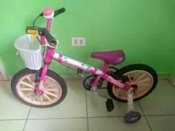 Bicicleta da Barbie aro 16