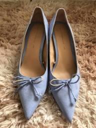 Sapato azul zara