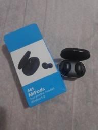 Fone Sem Fio A6S Bluetooth 5.0 Preto