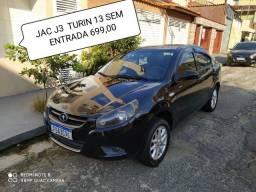 JAC J3 TURIN 2013 SEM ENTRADA R$699,00