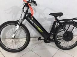 Bicicleta elétrica pra sair logo