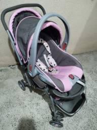 Carrinho + bebê conforto COSCO - 1 ano de uso