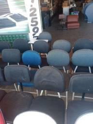 Cadeiras execultivas estofadas em promoção