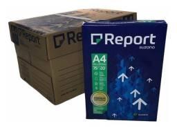 Papel A4 75 gr cx 10 resmas Report