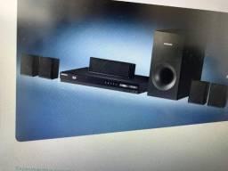 Home cinema system (home theater) Samsung - quase novo (em perfeito estado).