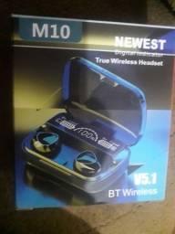Fone de ouvido wireless tws M10 original