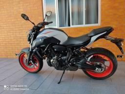 Moto Yamaha MT07 2020 muito nova 3000 km