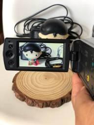 filmadora handycam dcr sx21 zoom 67x lcd 2.7 preta sony