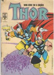Quadrinhos Thor - Ed. 2 - 1988 - 32pg - Abril-Marvel