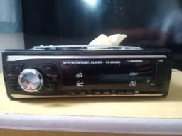 Som automotivo Roadstar RS-2606BR Bluetooth com módulo de som