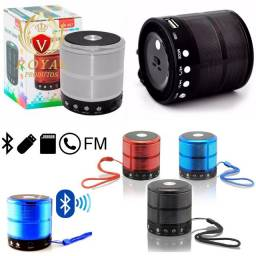 Caixinha Som Ws-887 Bluetooth Portátil Usb Mp3 P2 Sd Rádio Fm