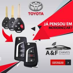 CHAVE CANIVETE TOYOTA