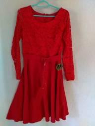 Vestido  vermelho tam:40
