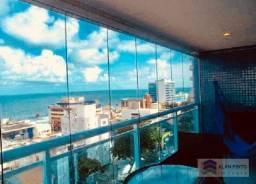 Apartamento com 1 dormitório para alugar, 47 m² por R$ 1.900/mês - Barra - Salvador/BA