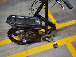 Bike sense dobrável  preta aro 20