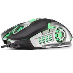Pacote de 2 Mouse Gamers + 2 Mouse Pad